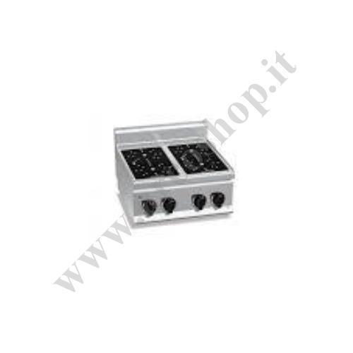 001614 - CUCINA ELETTRICA A INFRAROSSI  E7P4B/VTR