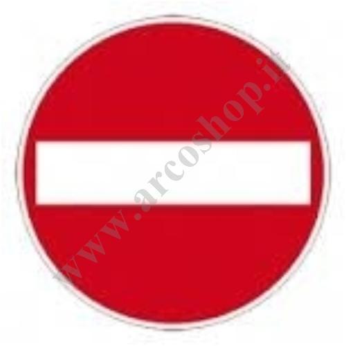 002191 - ADESIVO ROTONDO DIAM 19,5 CM CON IDENTIFICAZIONE SEGNALE DEL DIVIETO 5Q010095ZZ
