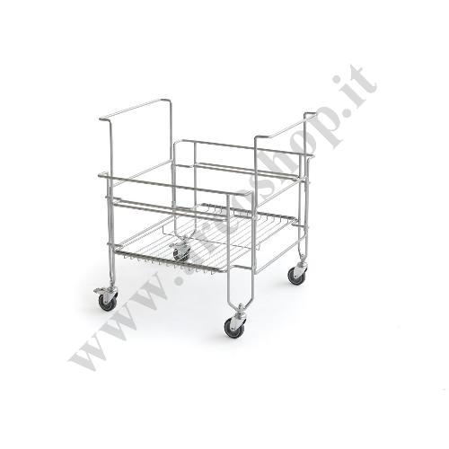 002231 - CARRELLO PER GELATO COOLBOX CART FOR 2