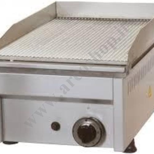 002544 - FRY TOP A GAS  RIGATO  FTG1R