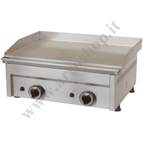 002545 - FRY TOP A GAS  LISCIO FTG2L