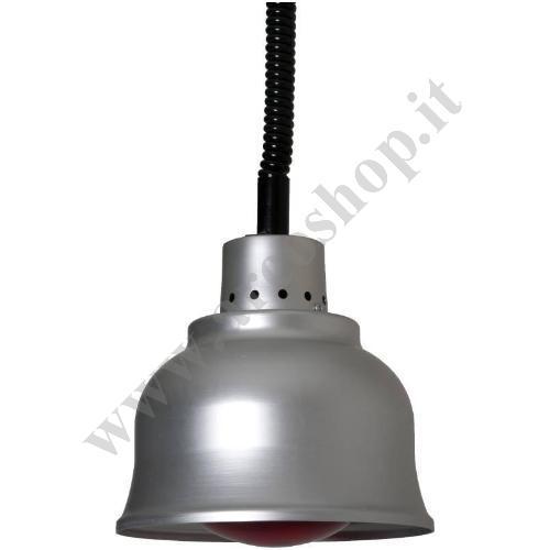 002587 - LAMPADA RISCALDANTE ALLUMINIO LA25R