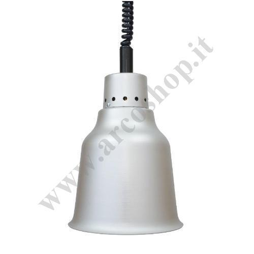 002593 - LAMPADA RISCALDANTE ALLUMINIO LV25R