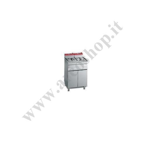 003270 - FRIGGITRICE ELETTRICA CON MOBILE DOPPIA - LITRI 13+13   ELT18+18M-E
